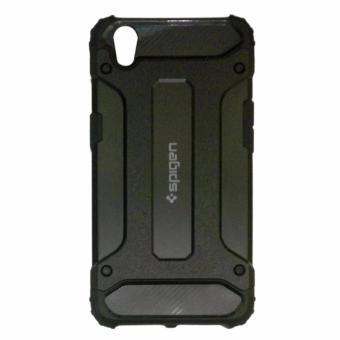 Casing Handphone Spigen Transformers Iron Robot Hardcase Casing for Oppo A37 / Neo 9