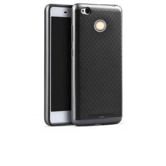 Casing Untuk Xiaomi Redmi 3 Pro / Redmi 3s Neo Hybrid Series - Abu-abu