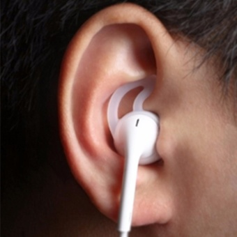 Earphone Cover Tips Hook For Airpods Anti-Slip Soft Silicone CL - intl