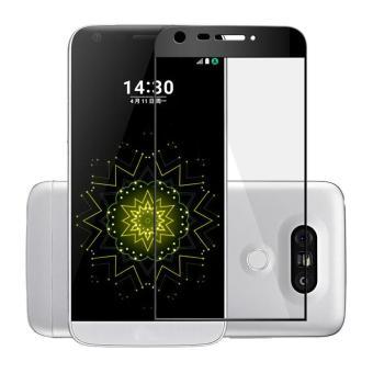 Untuk LG G5 Premium Full 3D Cuvred Cover 0.3mm 9H Tempered Glass Screen Protector -