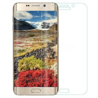 untuk Samsung Galaxy S6 Edge Plus Premium Full 3D Cuvred Cover 0.3mm 9 H Tempered