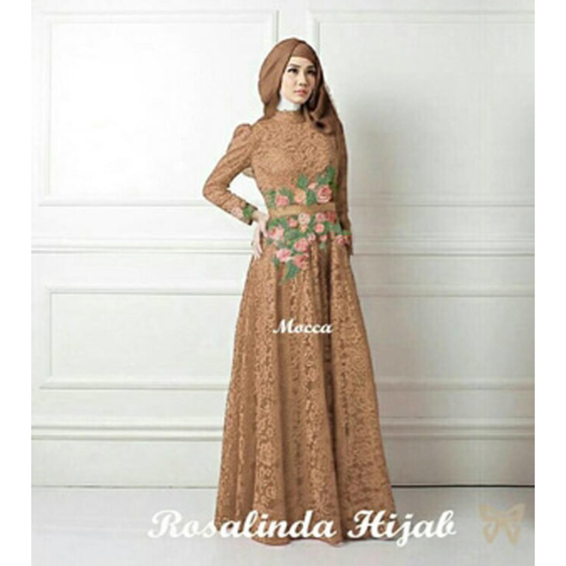 Kehebatan Gamis Syari Pesta Hijab Dress Terbaru Baju Kondangan