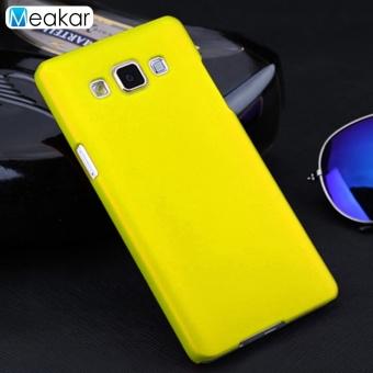 Menggiling Arenaceous Plastik Keras 5.0 Cell Phone Cover Case untuk Samsung Galaxy A5 2015-Intl