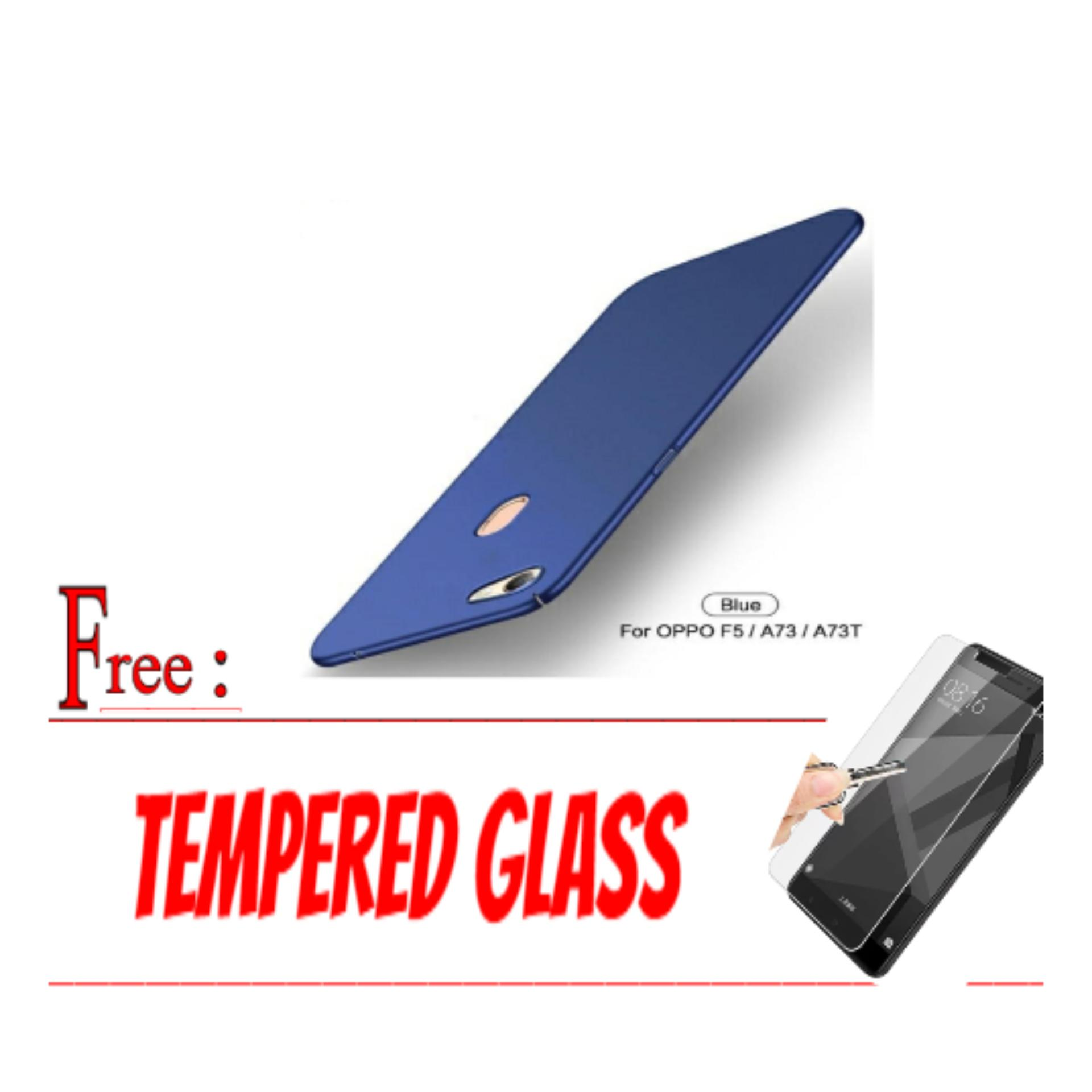 Hardcase Casing Cover For OPPO F5/A73/A73T (kL) Free Tempered Glass