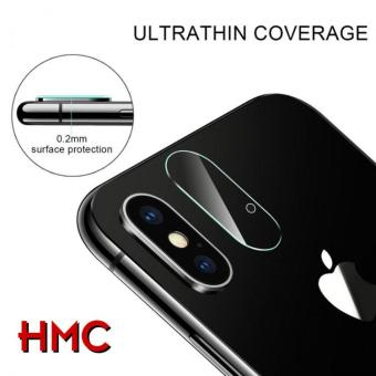 HMC Apple iPhone X - Back Camera Lens Tempered Glass - 2.5D Real Glass &