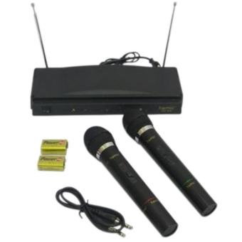 Homic Microphone Double Wireless HM-306