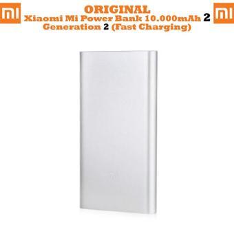 Jual Xiaomi Mi Pro 2 PowerBank 10000mAh Qualcomm Quick Charge 2.0 - Silver Harga Termurah Rp 250000. Beli Sekarang dan Dapatkan Diskonnya.
