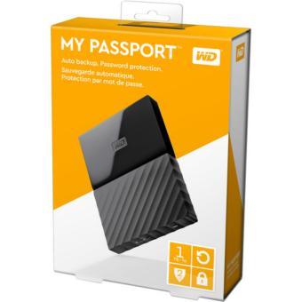 Jual Western Digital WD MyPassport New Design 1TB Black Harga Termurah Rp 810000. Beli Sekarang dan Dapatkan Diskonnya.