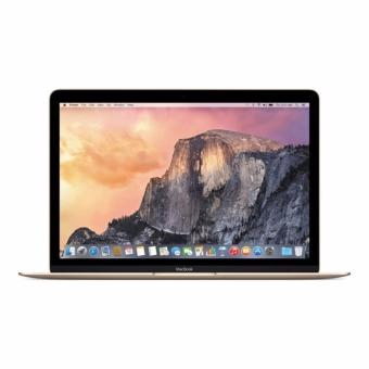 Jual APPLE MacBook 12 MLHE2 - RAM 8GB - Intel Core M3 - 12 Retina Display - X El Capitan - Gold