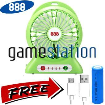 Jual 888 Kipas Angin Power Bank / Portable Mini Fan 3 Speed + Kabel Charger Harga Termurah Rp 65000. Beli Sekarang dan Dapatkan Diskonnya.