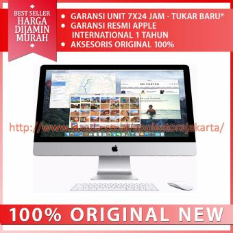 Jual Apple iMac Retina 4K MK452 Desktop - 21.5- 3.1Ghz Quadcore i5 - RAM 8Gb - 1TB HD - Silver