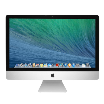 Jual Apple iMac ME086ZA/A Desktop - 21.5- Silver
