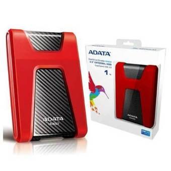 Jual Adata Durable HD650 2.5 External HDD 1TB - Merah
