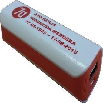 Jual 3T Power Bank Saku Spesial Edisi Merdeka - Putih-Oranye Harga Termurah Rp 99000. Beli Sekarang dan Dapatkan Diskonnya.