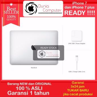 Jual Apple New Macbook MLHA2 - Intel Core M3 1.1 Ghz - 8GB - 12 - Silver