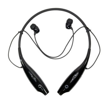 I-one Bluetooth Stereo Headset Two Channel - Hitam
