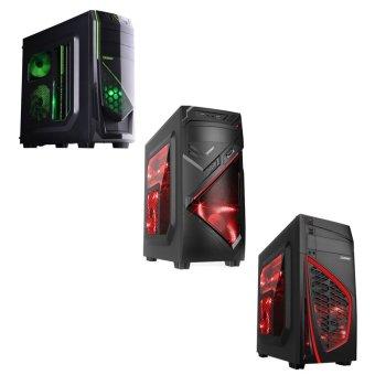 Jual Intel PC Rakitan GAMING Socket 2011 - LCD 24 - Intel i7-4820K - 16GB RAM - 2TB - GTX 970 4GB DDR5 - Hitam