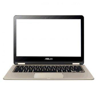 Jual Asus VivoBook Flip TP301UJ-DW082D (Intel Core i5-6200U/4GB RAM/1TB HDD/13.3/DOS) - Gold