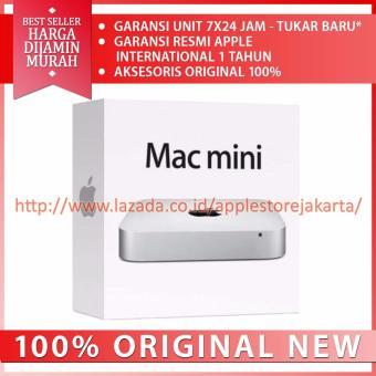 Jual Apple Mac Mini MGEQ2 - RAM 8GB - Intel Core Core i5 2.8ghz - Silver Harga Termurah Rp 16000000. Beli Sekarang dan Dapatkan Diskonnya.