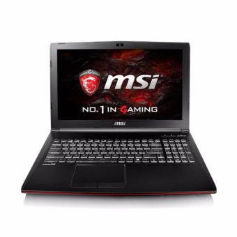 Jual MSI GP62M-7RD Leopard Pro - RAM 8GB - i7-7700HQ - 128GB SSD + 1TB - GTX1050M-2GB - 15.6 FHD - Black