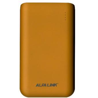 Jual ALFA LINK Power bank AP 10000RQ Orange Harga Termurah Rp 399000. Beli Sekarang dan Dapatkan Diskonnya.