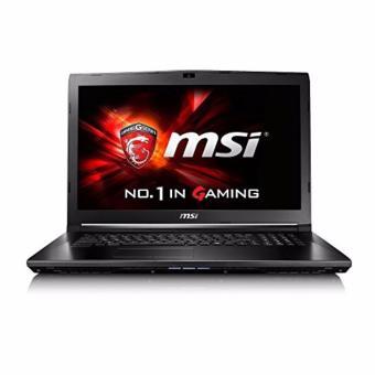 Jual MSI GP62-7RD Leopard Pro - RAM 8GB - i7-7700HQ - 256GB SSD + 1TB - GTX1050M-4GB - 15.6 FHD - Black
