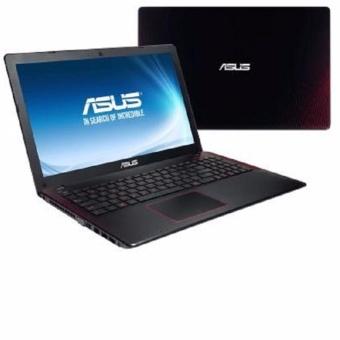 Jual Asus FX553VD-DM001D BLACK RED - Ci7-7700HQ - 8GB - GTX1050 2GB - 15.6 - DOS