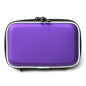 Jual 2.5 Hard Disk Drive External Cover HDD Protector Hard Drive Pouch Bag Carry Case (Purple)