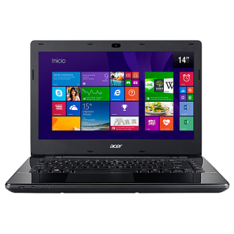 Jual Acer - ES1-420- 14 HD - AMD E1-2500 - 2GB RAM - Windows10 - Hitam