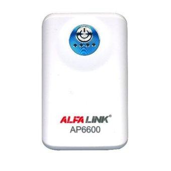 Jual ALFA LINK Power bank AP 6600 White Harga Termurah Rp 269000. Beli Sekarang dan Dapatkan Diskonnya.