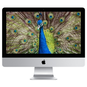 Jual Apple iMac 4K Retina Display MK452 Late 2015 - 21.5 - Intel i5 - 8 GB - Silver
