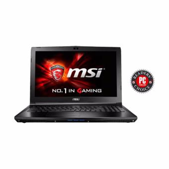 Jual MSI GP62 7RD-492XID BLACK - Ci7-7700HQ - 8GB - GTX1050 4GB - 15.6 - DOS