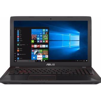 Jual ASUS FX553VD-DM001D - RAM 8GB - Intel Core i7 7700HQ - nVidia GTX1050M-2GB - 15.6 FHD - Black-Red