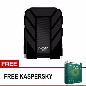 Jual ADATA HD710 [2TB/USB3.0] Harddisk Eksternal 2.5 - Hitam + Free Kaspersky USB Antivirus