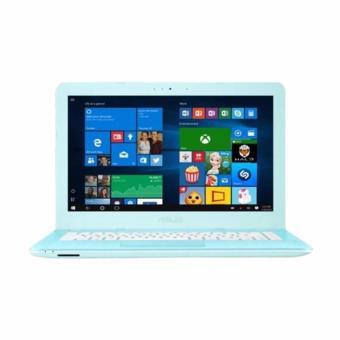 Jual Asus X441SA-BX005T AQUA BLUE - N3060 - 2GB - Intel HD - 14 - Windows 10