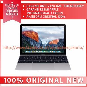 Jual Apple New Macbook MLH82 - 12 - Intel Core M5 - 8GB Ram - 512GB Flash Storage - Grey