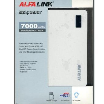 Jual ALFA LINK Power bank AP 7000 Mah White Harga Termurah Rp 549000. Beli Sekarang dan Dapatkan Diskonnya.