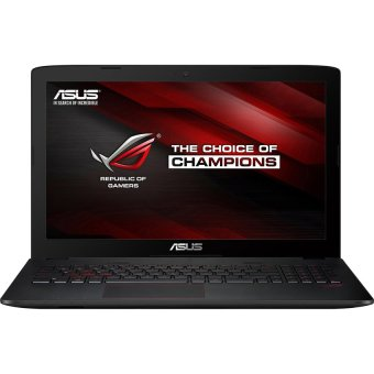 Jual Asus ROG GL552VX-DM018D - 15.6 - Intel Core i7-6700HQ - 4GB DDR3 - 1TB HDD- VGA 4GB - Hitam