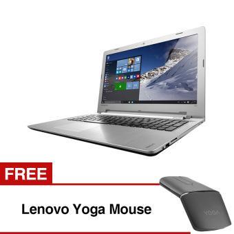 Jual Lenovo Ideapad 500 - Intel Core i7-6500U - 4GB - 1TB - AMD R7 M360 2GB Graphics - 15,6 - Windows 10 - Putih + Free Lenovo Yoga Mouse PRE-ORDER