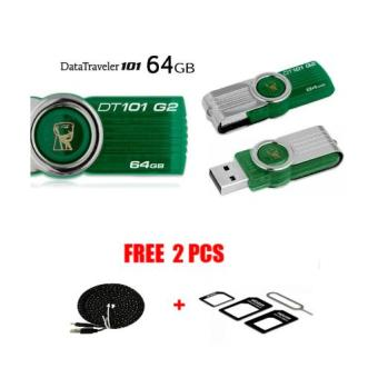 Kingstone 64 GB/ Flash Disk /Flash Drive FREE Kabel Data 3M+NOSSY Pembuka
