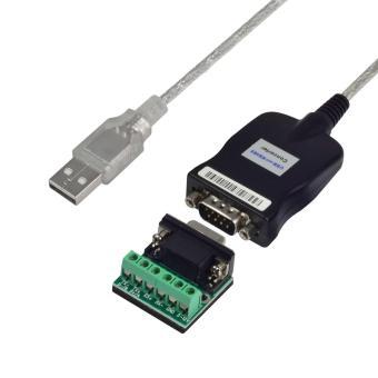 MENGS(R) USB 2.0 untuk RS232/RS485/RS422 DB9/M Perangkat