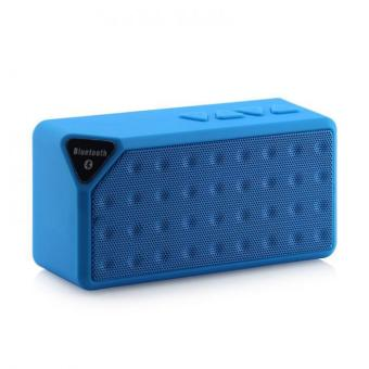 Mini Speaker Bluetooth X3 TF USB Radio FM Radio Suara Music Boxes Portabel Subwoofer Pengeras Suara