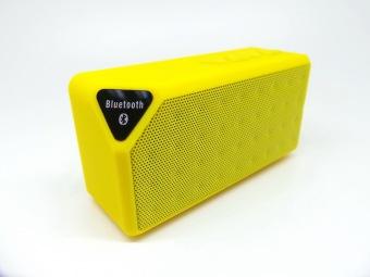 Mini Bluetooth pembicara X3 TF radio FM USB portabel nirkabel pengeras suara kotak suara musik Subwoofer