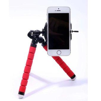 Mini Tripod Kamera Digital Mobile Phone Stand Fleksibel Grip Octopus Bubble Monopod Kaki Fleksibel Kamera Kecil