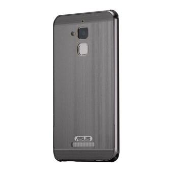 Moonmini Case untuk Asus Zenfone 3 Max ZC520TL Bingkai Logam Bumper Case dengan Shockproof Hard PC
