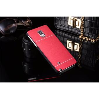 Motomo Hardcase Backcase Samsung Galaxy Note 4 / Casing Samsung Galaxy Note 4 / Metal Case