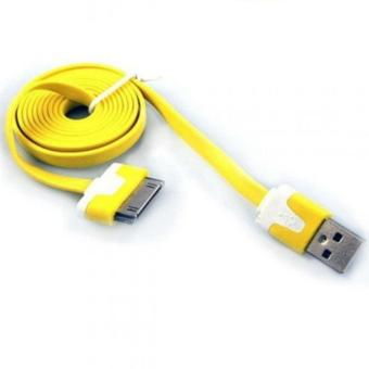 MR Cable Data Charging Charger Cable USB Flat 30pin Apple iPhone 4s 4g ipad 1 ipad