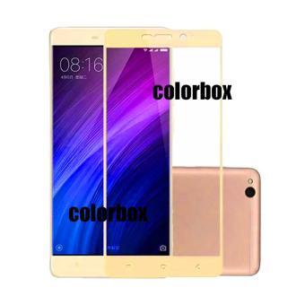 MR Xiaomi Redmi 4A Screen Protector Full Screen Gold Xiaomi Redmi 4A / Tempered Glass Xiaomi