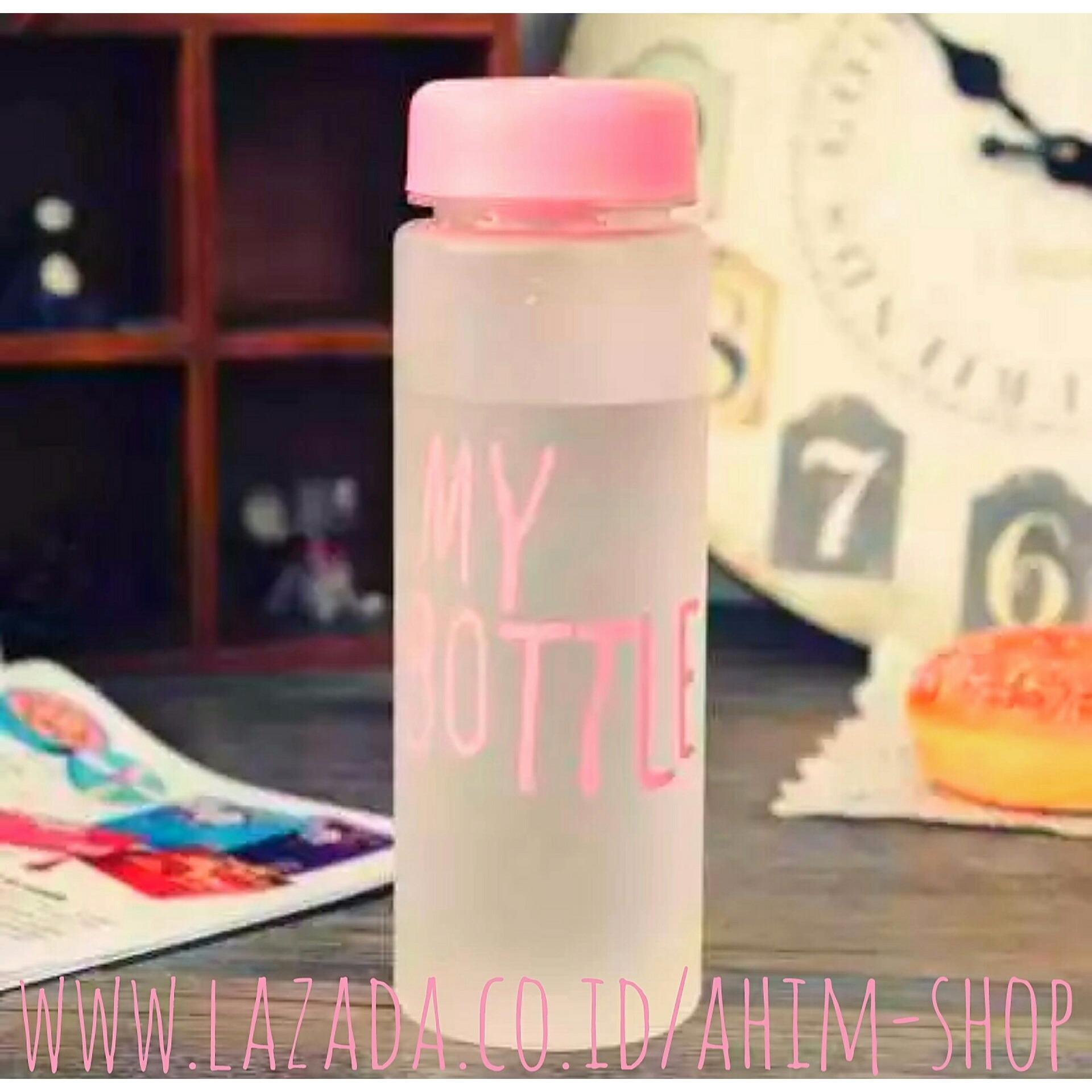 Kehebatan My Bottle Clear 545 Ml Bag Sarung Tas Botol Minum Tritan Doff 500ml Free Pouch Elegant Infused Water Bpa Eco Friendly