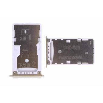 Nano SIM Card Tray Pemegang Kartu Micro SD Slot Adapter Replacement Repair Parts untuk Xiaomi Redmi